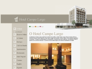 Thumbnail do site Hotel Campo Largo