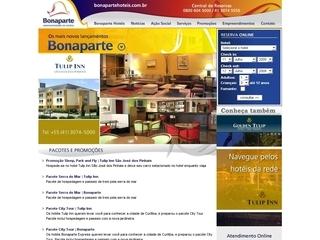 Thumbnail do site Bonaparte Hotéis