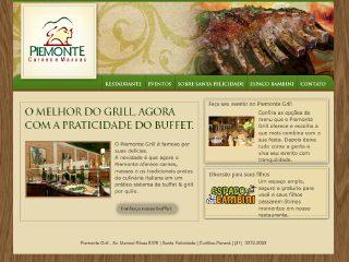 Thumbnail do site Restaurante Piemonte Grill