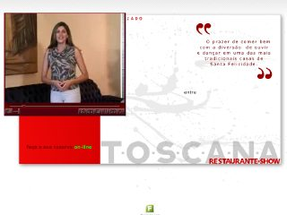 Thumbnail do site Restaurante Toscana