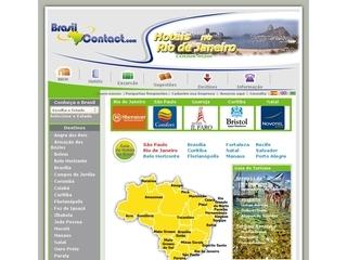 Thumbnail do site Turismo em Paraná - Brasil Contact