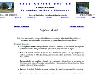 Thumbnail do site Borian Corretor
