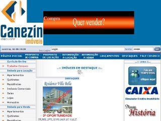 Thumbnail do site Canezin Imóveis