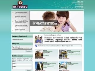 Thumbnail do site Cangussú Imóveis