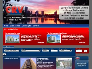 Thumbnail do site C.R.V. Imobiliaria