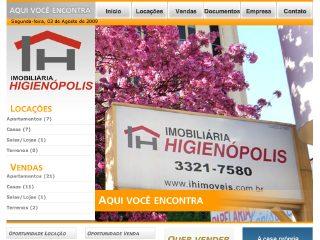 Thumbnail do site Imobiliária Higienópolis