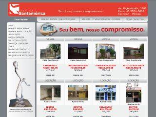 Thumbnail do site Imobiliária Santamerica