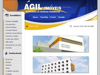 Thumbnail do site Ágil Imóveis - Associados de Gestores Imobiliários