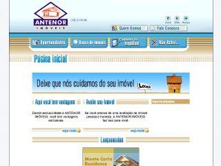 Thumbnail do site Antenor Imóveis