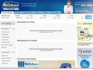 Thumbnail do site BellaKaza Negocios Imobiliários