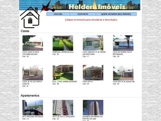 Thumbnail do site Helder Planas Imóveis