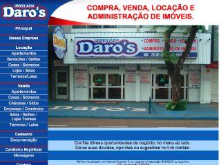 Thumbnail do site Imobiliária Daro
