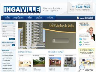 Thumbnail do site Imobili�ria Ingaville