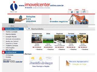 Thumbnail do site Imovelcenter Negócios Imobiliários