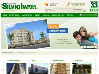 Thumbnail do site Silvio Iwata Imobiliária