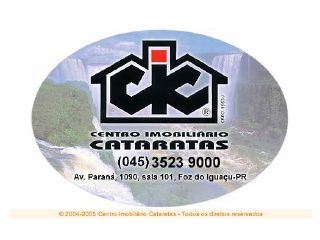 Thumbnail do site Centro Imobiliário Cataratas