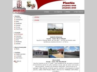 Thumbnail do site Imobiliária Quinze