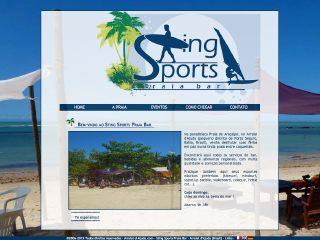 Thumbnail do site Sting Praia Bar - Bar e Restaurante de Praia