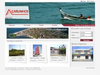 Thumbnail do site Carlinhos Imóveis