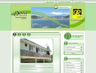 Thumbnail do site Dora Imóveis