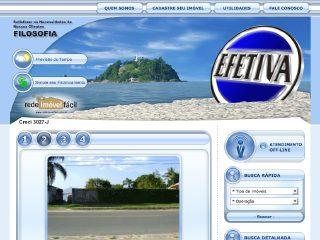 Thumbnail do site Efetiva Imobiliária