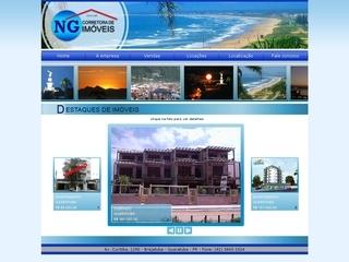 Thumbnail do site NG Corretora de Imóveis
