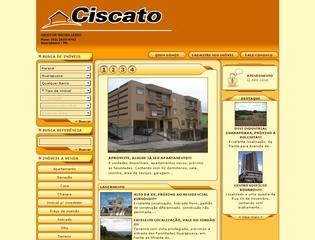 Thumbnail do site Ciscato Gestor Imobiliário