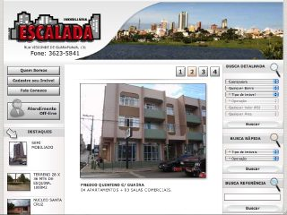 Thumbnail do site Escalada Imobiliária