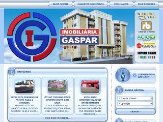 Thumbnail do site Imobiliária Gaspar