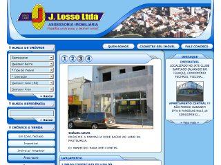 Thumbnail do site J. Losso Imóveis Ltda
