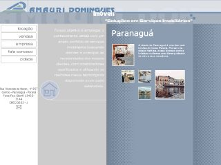Thumbnail do site Amauri Domingues Imóveis