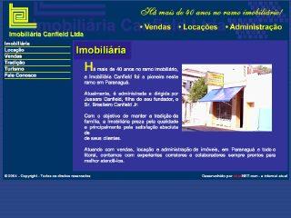 Thumbnail do site Imobiliária Canfield Ltda.