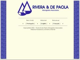 Thumbnail do site Rivera & De Paola - Advogados Associados