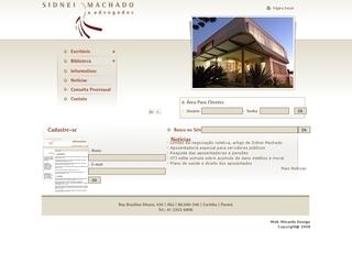 Thumbnail do site Sidnei Machado & Advogados Associados