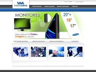 Thumbnail do site Microsens Ltda.