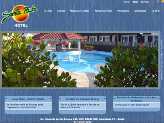 Thumbnail do site Hotel Santa Paula