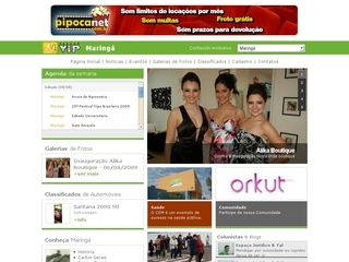 Thumbnail do site Paraná VIP