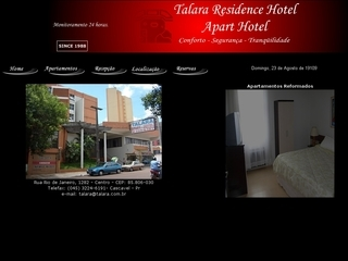 Thumbnail do site Talara Residence Hotel
