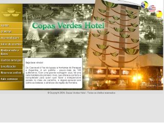 Thumbnail do site Copas Verdes Hotel