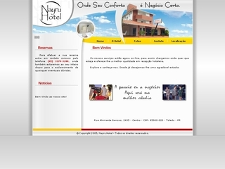 Thumbnail do site Nayru Hotel