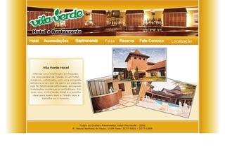 Thumbnail do site Vila Verde Hotel