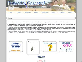 Thumbnail do site Pousada Cascavel