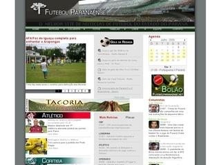Thumbnail do site Futebol Paranaense.net