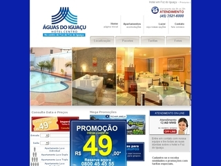 Thumbnail do site Hotel Águas do Iguaçu