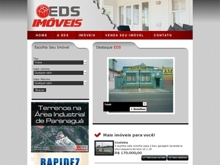 Thumbnail do site EDS imóveis
