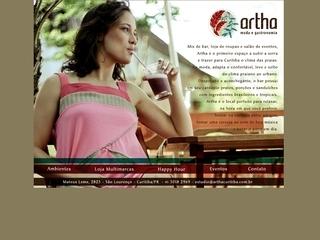 Thumbnail do site Artha Cultura Gastronômica