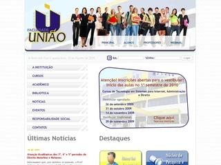 Thumbnail do site UNIÃO - Faculdade Educacional de Ponta Grossa
