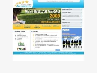 Thumbnail do site Faculdade Alvorada de Tecnologia e Educação de Maringá