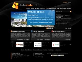 Thumbnail do site Studio Viabr