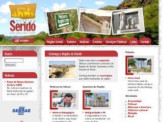 Thumbnail do site Roteiro Seridó